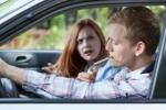 Couple argue over car smoking